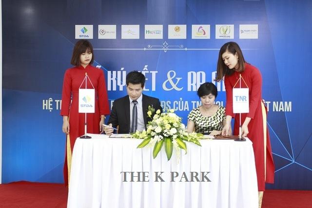 Lễ ký kết hợp tác đầu tư và phát triển dự án The K Park