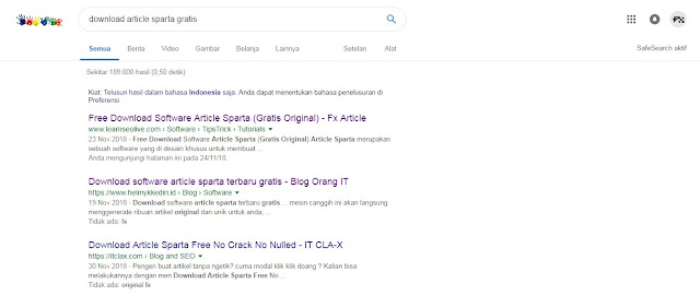 10 Tips and Trick mempertahankan artikel Blog berada di Page One Google Search