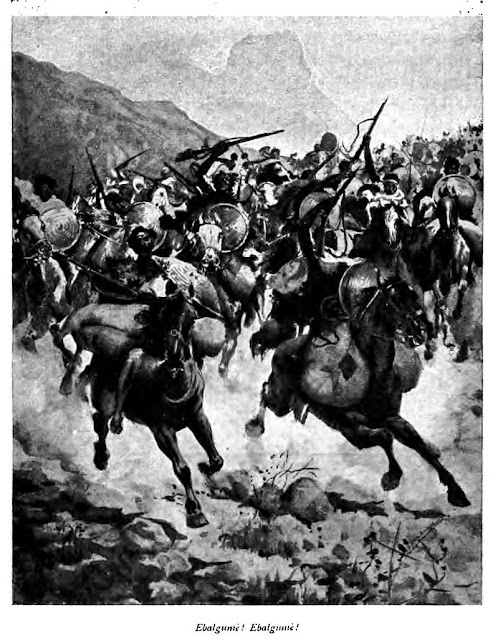 Ethiopian Cavalry at the time of the Battle of Adua