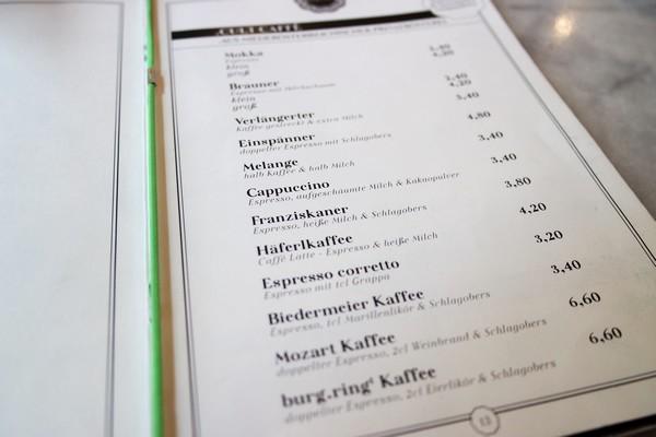 café traditionnel vienne spécialités