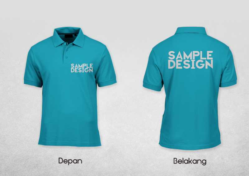 Download Mockup Polo Shirt Cdr Version Jago Desain