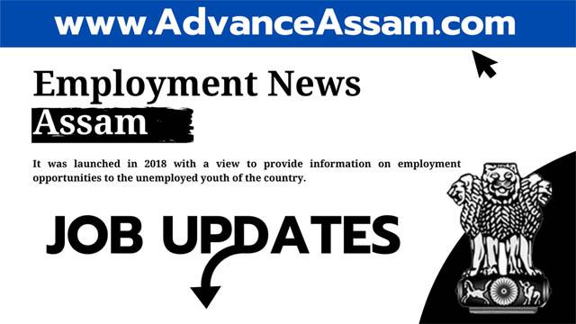 Assam job news-2020, Employment news assam-2020, job news assam-2020, assam career job news-2020