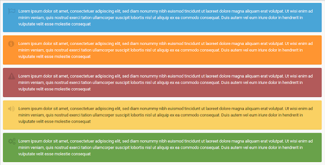 Blok model ini bergotong-royong tidak terlalu penting Membuat Catatan, Info, Warning, Tips, & Update