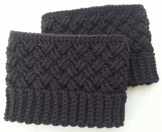 Häkelfieber Austria: Celtic Dream Boot Cuffs