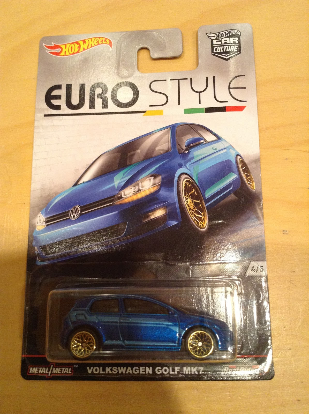 Julian S Hot Wheels Blog Volkswagen Golf Mk7 2016 Car Culture