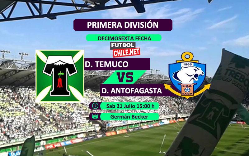 Mira Deportes Temuco vs Deportes Antofagasta en vivo y online por la Primera División de Chile