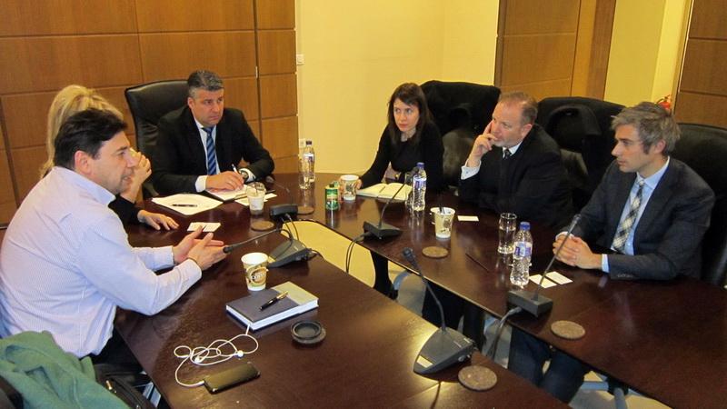 Συνάντηση Τοψίδη με εκπροσώπους του Εμπορικού και Οικονομικού Τμήματος της Πρεσβείας των ΗΠΑ