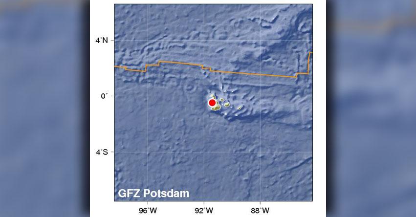 TEMBLOR EN ECUADOR: Fuerte Sismo de Magnitud 4.9 - Alerta de Tsunami (Hoy Lunes 12 Marzo 2018) Terremoto Sismo EPICENTRO Islas Galápagos - USGS - www.igepn.edu.ec