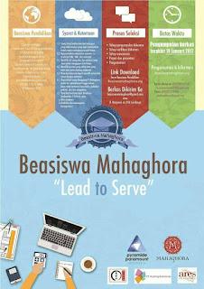 Beasiswa Mahaghora 2017