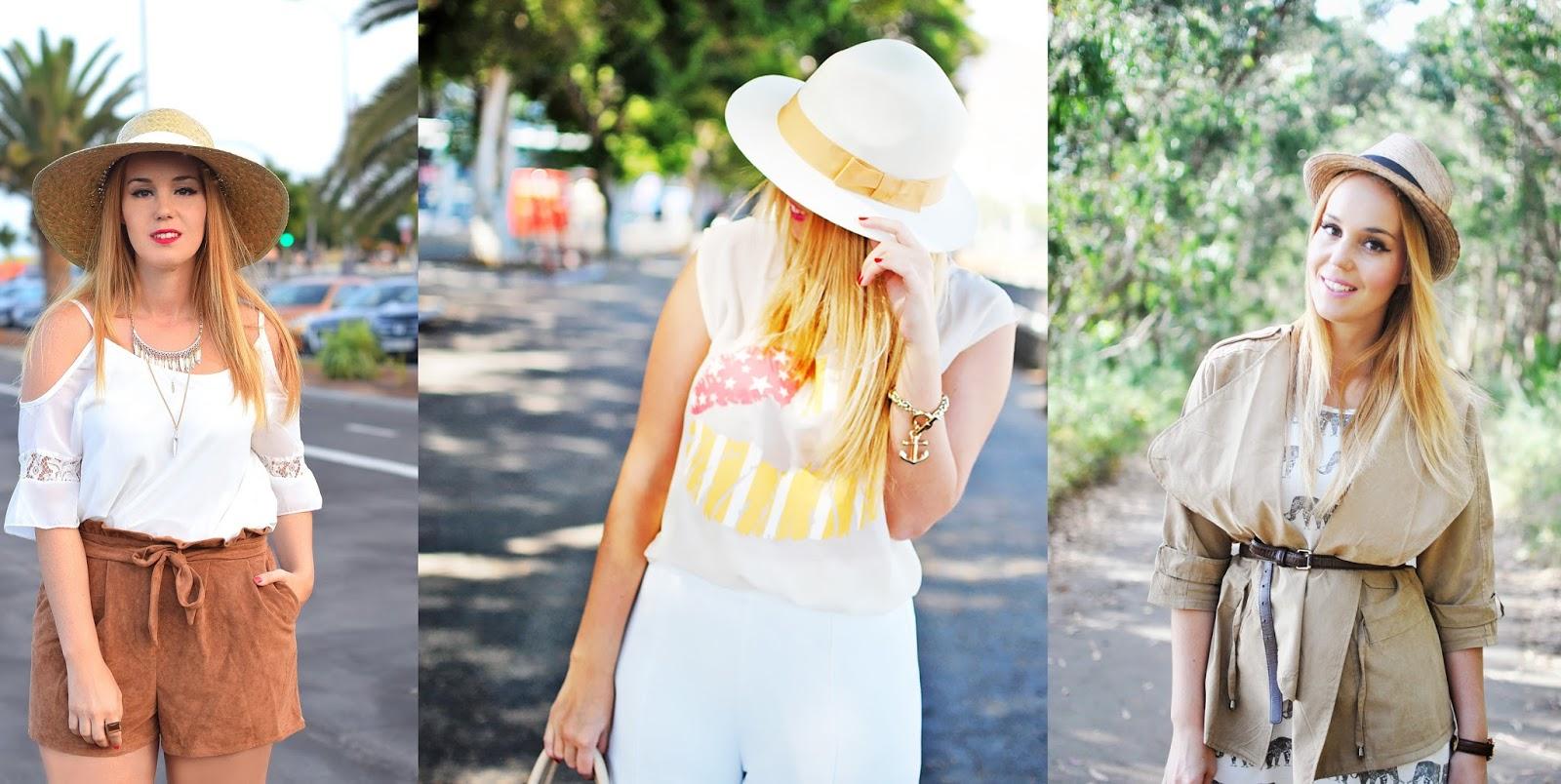 nery hdez, special compilation , summer hats, sombreros en verano, como combinar un sombrero en verano