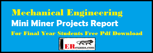 Diploma Mechanical Projects Pdf