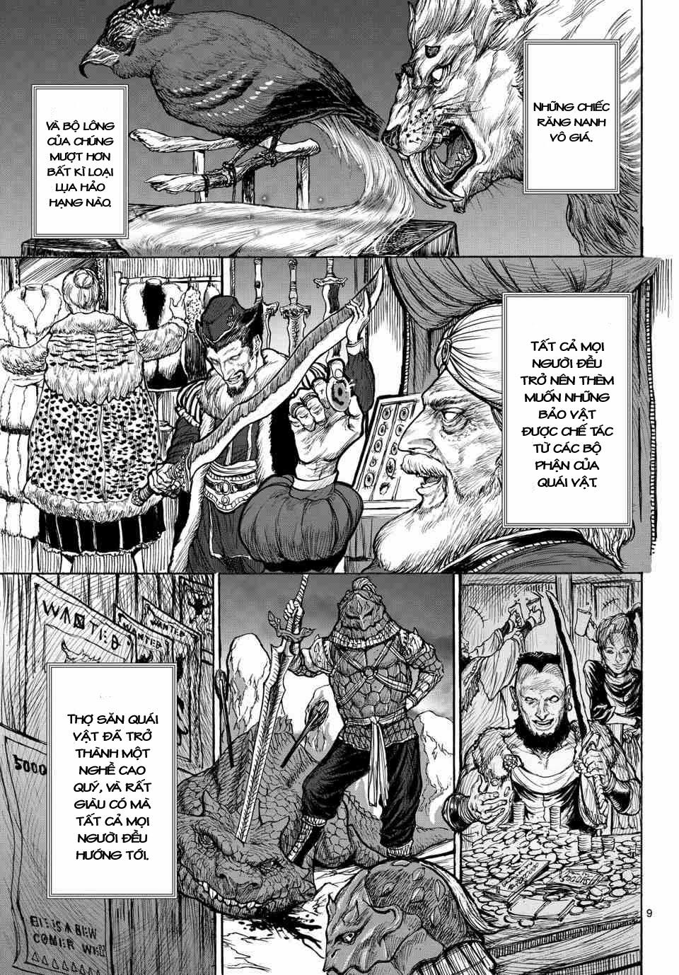 Monster X Monster chapter 1a trang 8