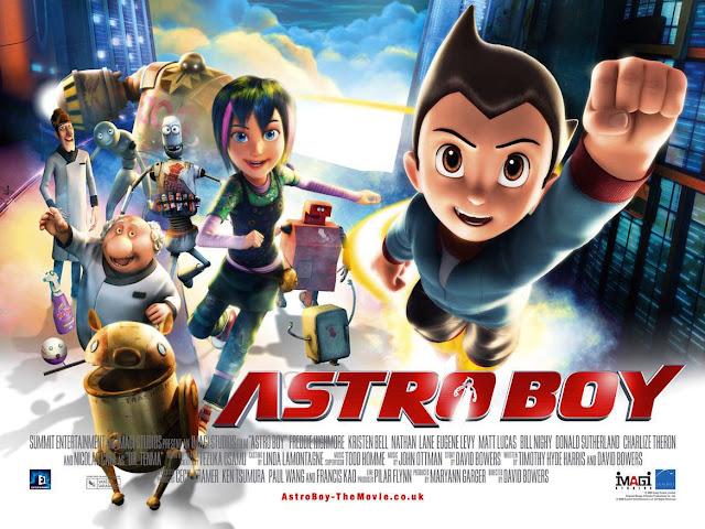 Cartel de la película Atroboy del año 2009 dirigida por David Bowers
