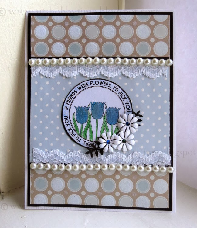 Uts Hobby Time Handmade Friends Friendship Day Greeting Card