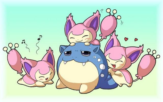 Pok mon by review 300 301 skitty delcatty - Pokemon skitty ...