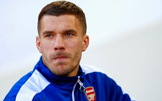 Lukas Podolski set to join inter Milan on loan