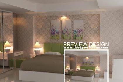 Jasa Design Ruang Kamar Tidur Utama