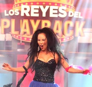 Foto de Patty Wong en Los Reyes del Playback