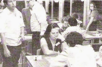 Pepita Ferrer en la Olimpíada de Haifa de 1976