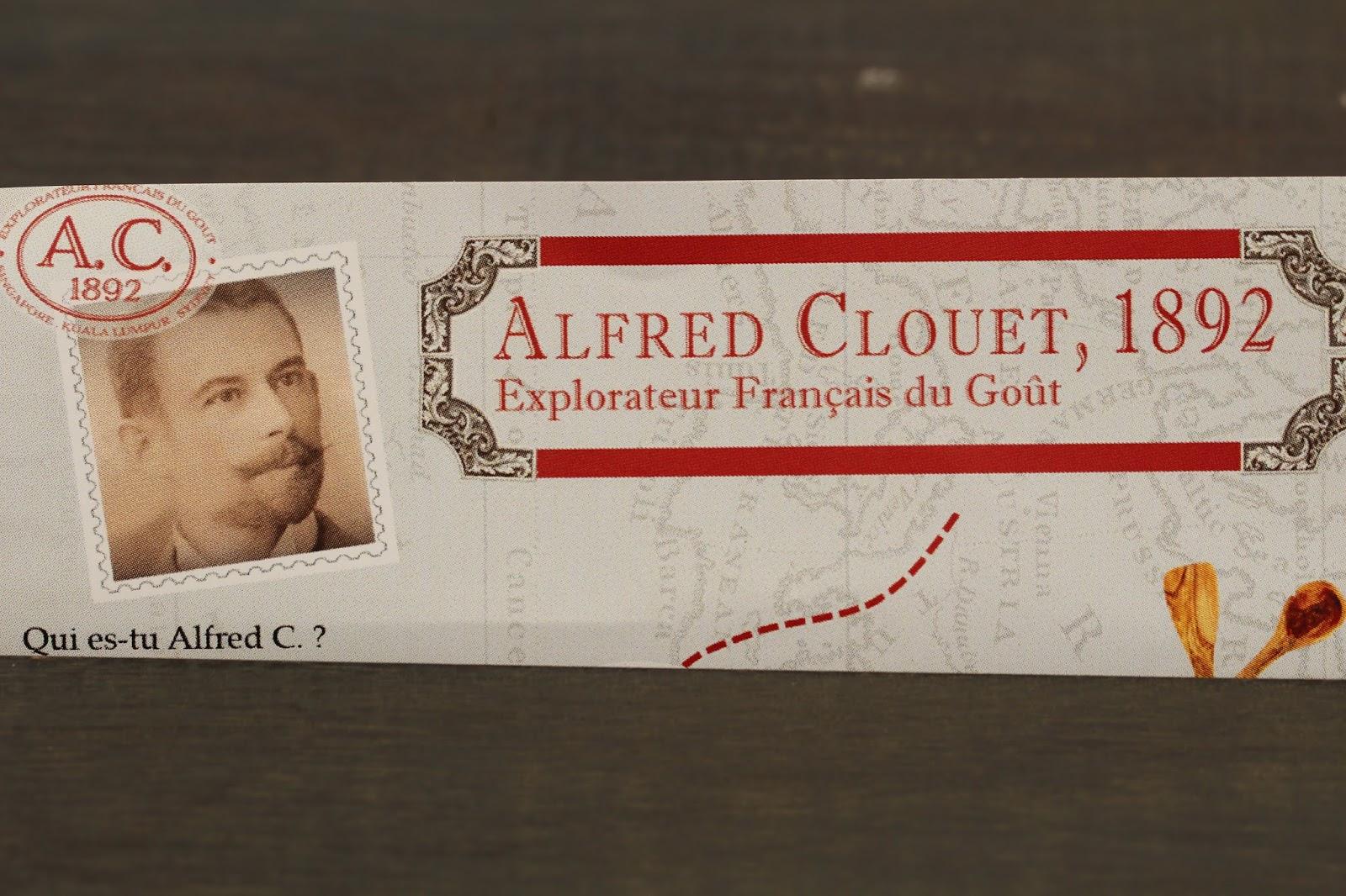 Qui es-tu Alfred Clouet?