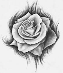 rose drawing drawings tattoo roses deviantart sketch draw simple drawn flower bleeding tattoos pages coloring cliparts easy line flowers tatoo