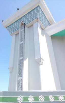 roster motif Islami masjid Al Akbar Surabaya