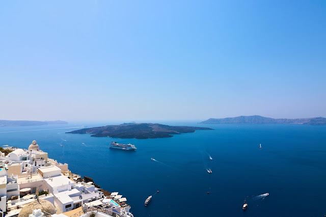 Grecja, Santoryn, podróże