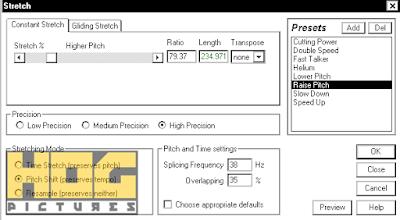Menurunkan dan Menaikkan Suara Pitch Nada di Adobe Audition - Hog Pictures