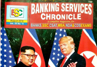 BSC Banking Services Chronicle Magazine August 2018