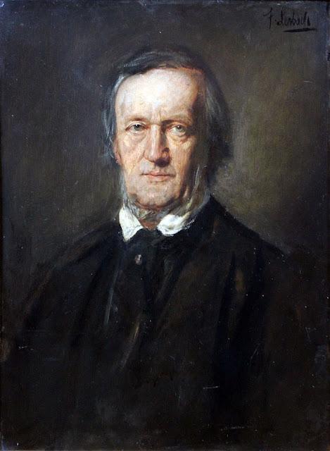 Franz von Lenbach, Portrait of Richard Wagner (antes de 1895)