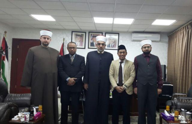 Bangun Islam Moderat, Ulama Yordania Gandeng Ulama NU dan MUI