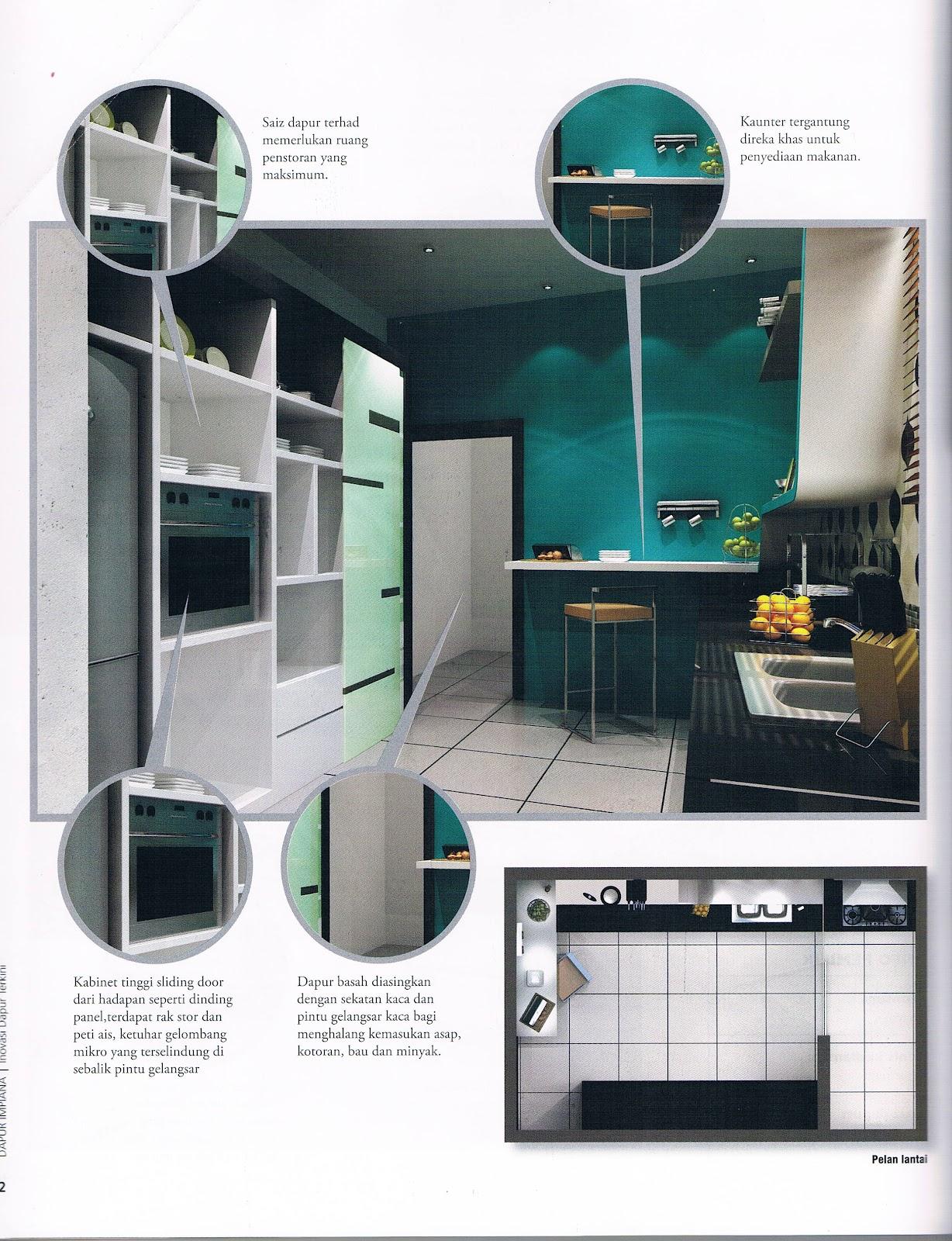 Imanpuri Interior Architecture Mengolah Ruang Dapur Apartmen