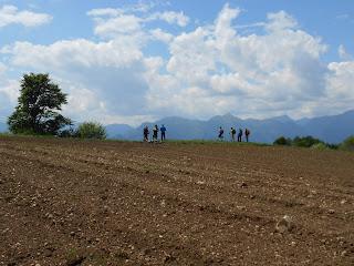 Inizio discesa Anaconda / Naranch Trail