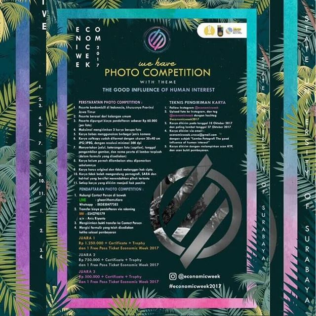 Photo Competition EconomicsWeek | Umum