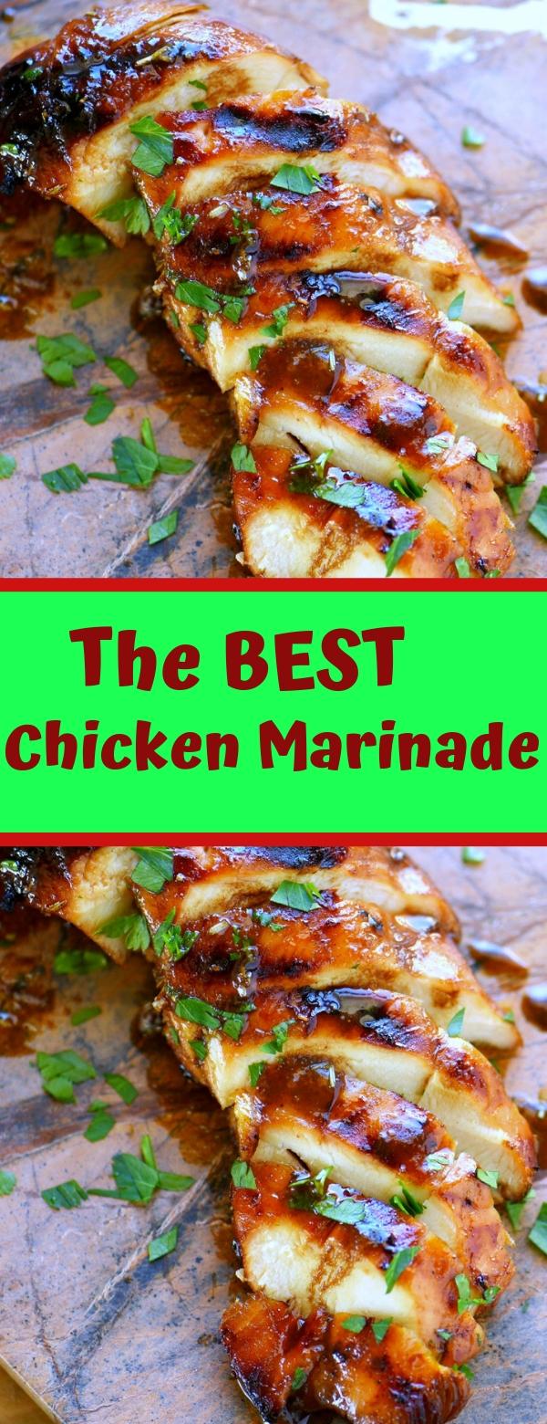 The BEST Chicken Marinade #CHICKEN #BALSAMIC #DINNER
