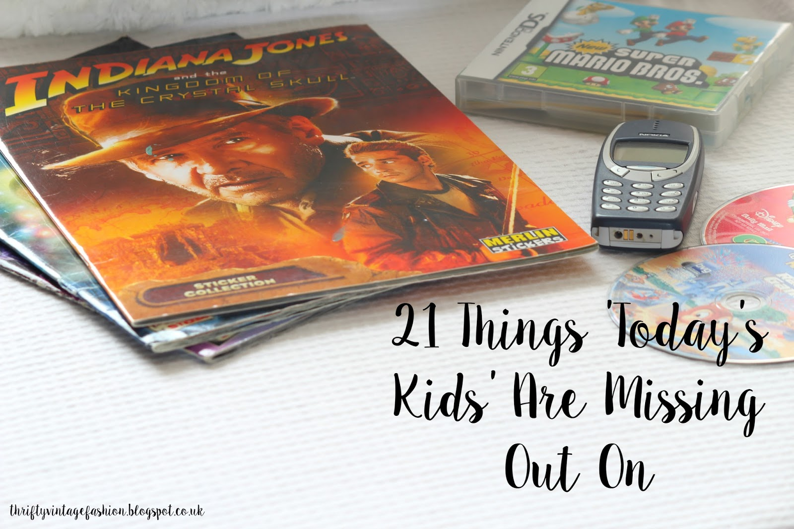 21 Things 'Today's Kids' Are Missing Out On lists Buzzfeed bloggger UK stickerbooks