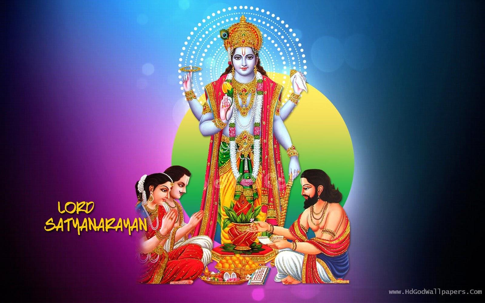 Lord Satyanarayana God Pictures
