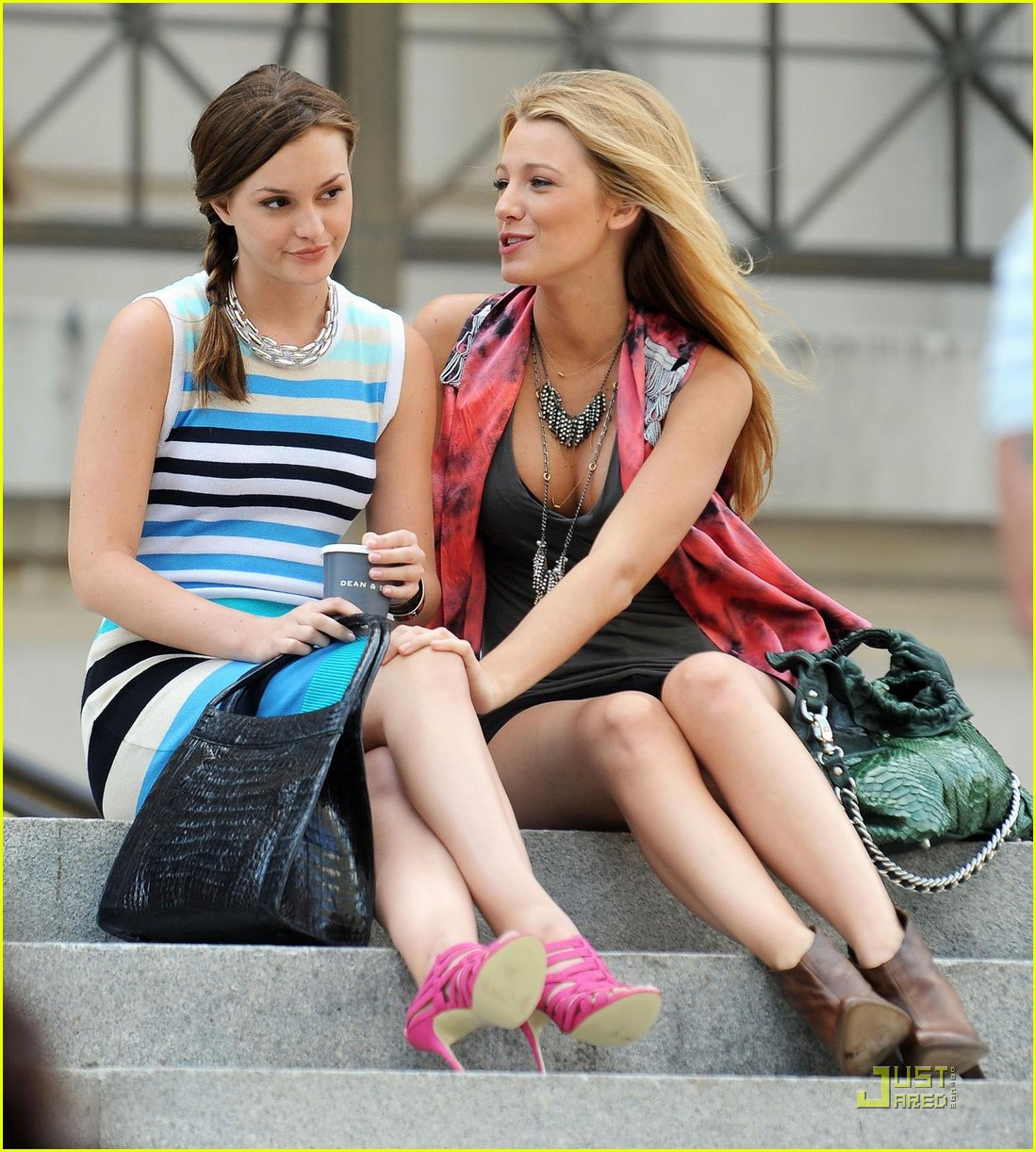 relationship between blake lively and leighton meester
