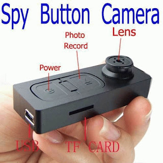 Spy Cam Button Camera / Kamera Pengintai Bentuk Kancing1