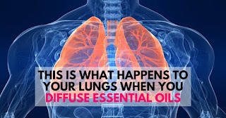 lungs when you release essential oils
