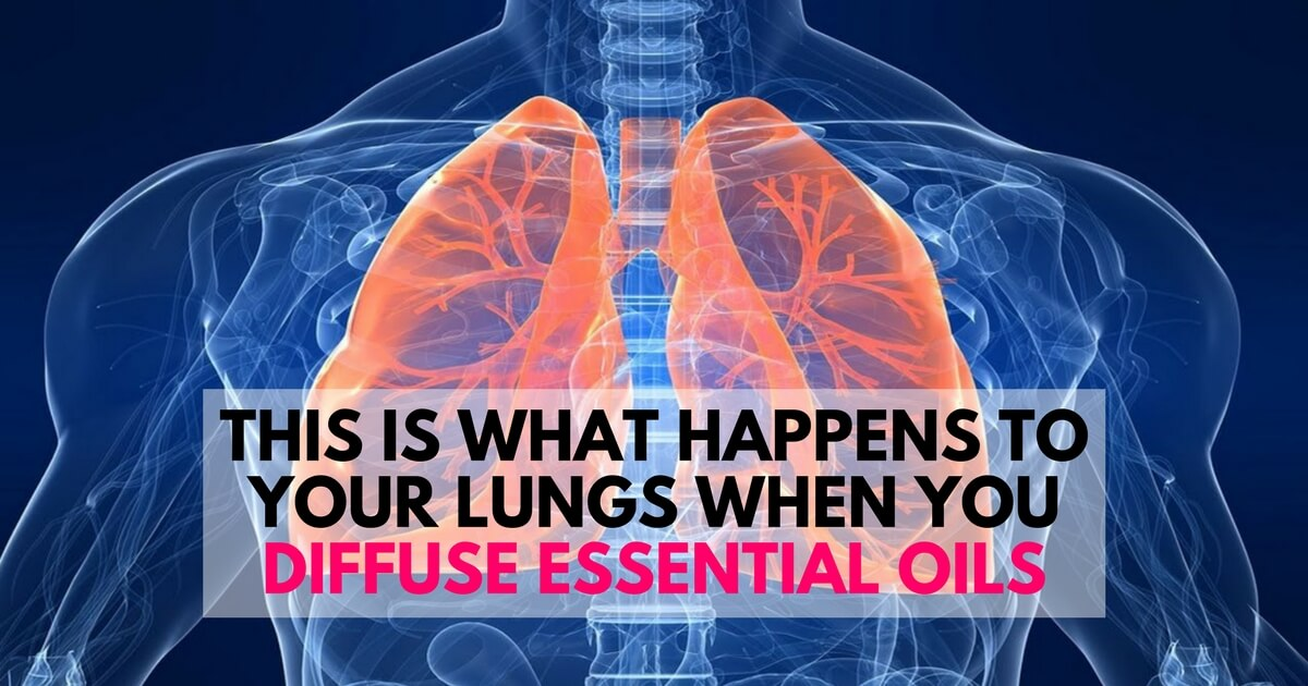This Is What Happens To Your Lungs When You Release Essential Oils