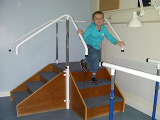 physiotherapy staircase for stroke unit