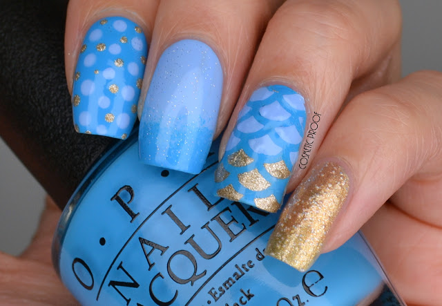 Skittle Nail Art with OPI Alice Through the Looking Glass Collection Review