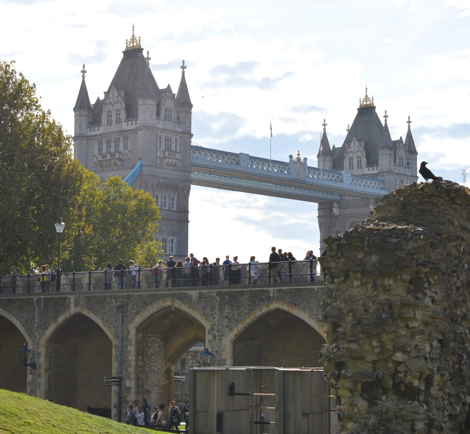 The LNER Family Return Ticket Newcastle-London. #OurLNER #FamilyReturn  - view of Tower bridge from the Tower of London