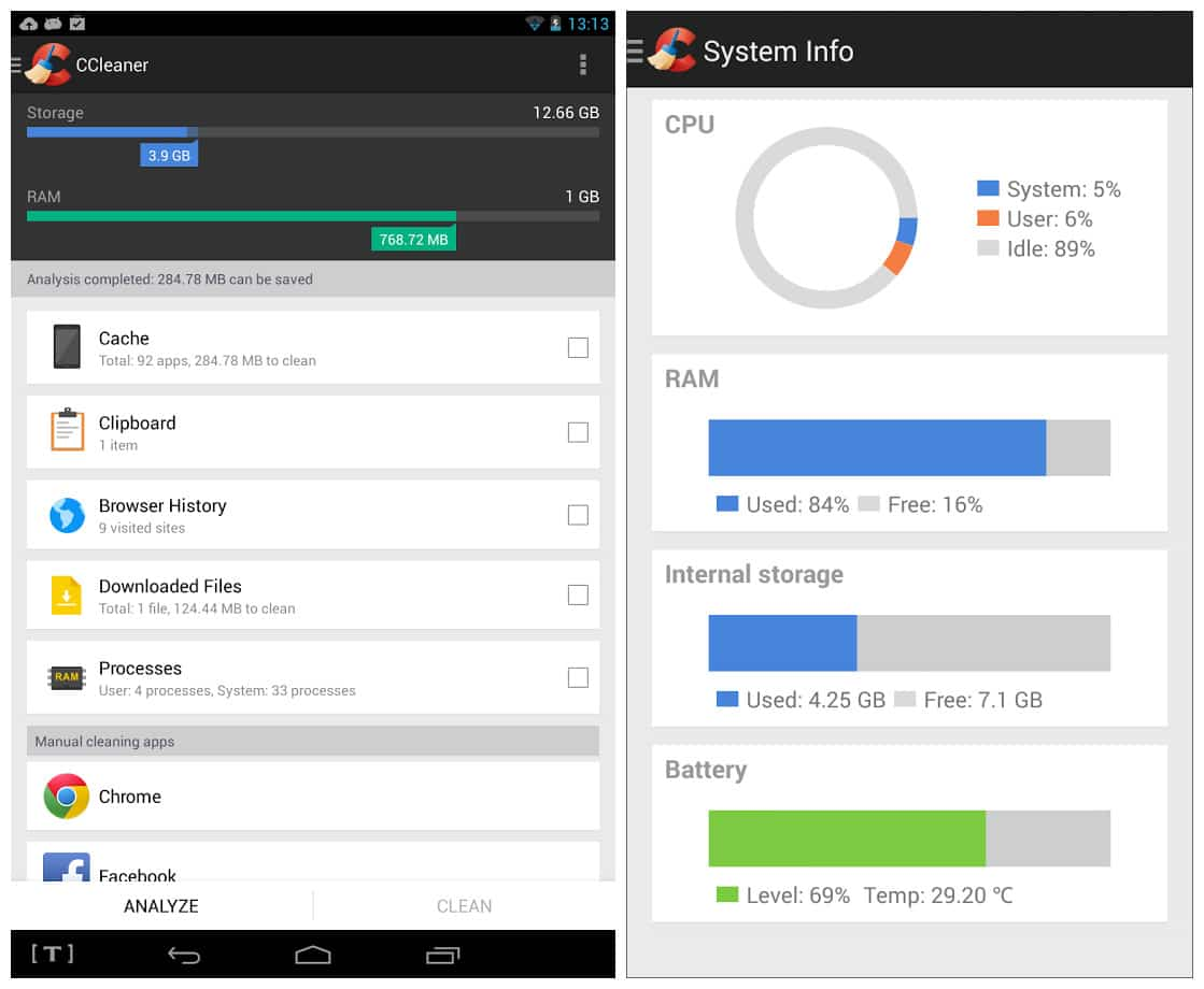 ccleaner download for android tablet