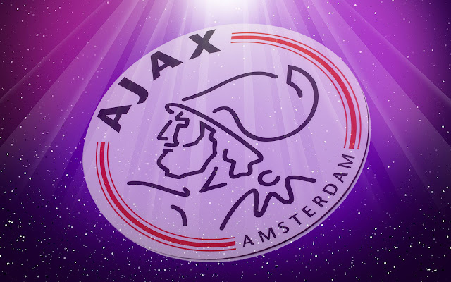 Paarse Ajax wallpaper