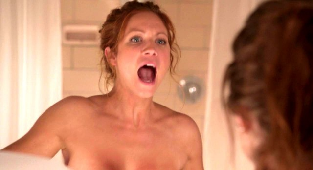 Louise lombard topless shower house of eliott ncis