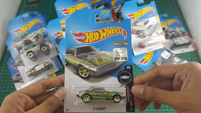 Hot Wheels Zamac Edition 67 camaro