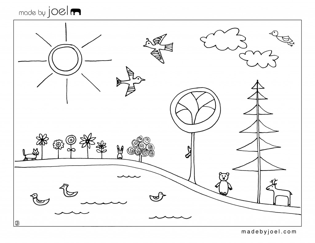 earth day coloring pages 2013 - photo#37