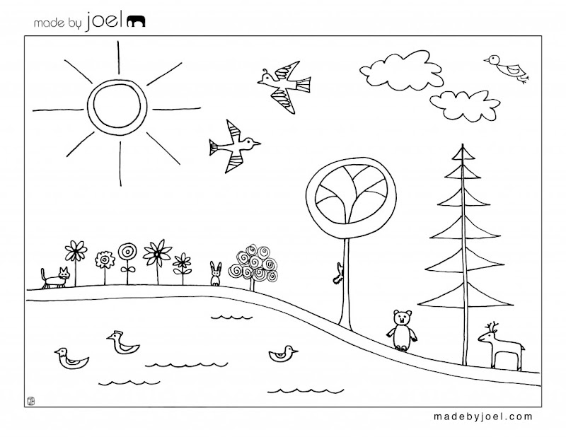 Coloring Pages For Earth Day Printable ~ Top Coloring Pages